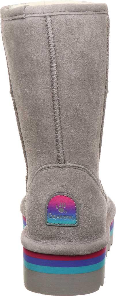 Women's Bearpaw Retro Elle Mid Calf Boot, Gray Fog Suede, large, image 4