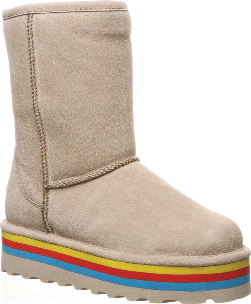Women's Bearpaw Retro Elle Mid Calf Boot, Oat Suede, large, image 1
