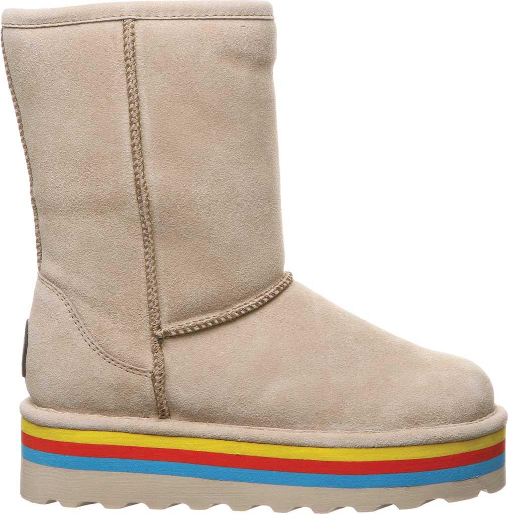 Women's Bearpaw Retro Elle Mid Calf Boot, Oat Suede, large, image 2