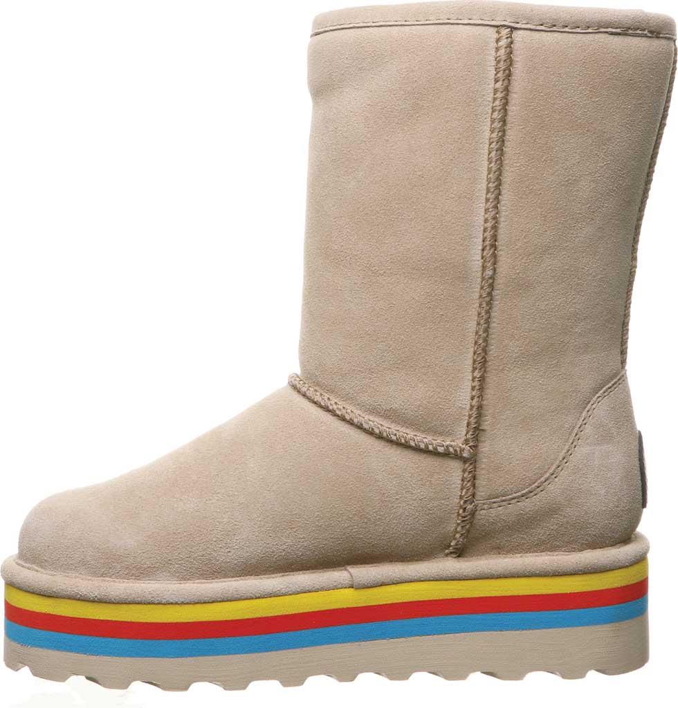 Women's Bearpaw Retro Elle Mid Calf Boot, Oat Suede, large, image 3