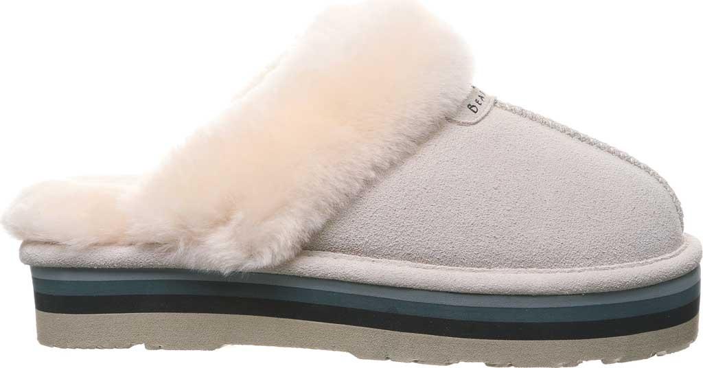 Women's Bearpaw Retro Loki Slipper, Winter White Suede, large, image 2