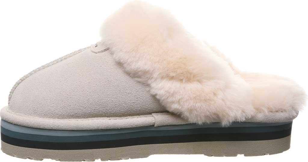 Women's Bearpaw Retro Loki Slipper, Winter White Suede, large, image 3