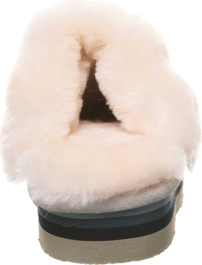 Women's Bearpaw Retro Loki Slipper, Winter White Suede, large, image 4