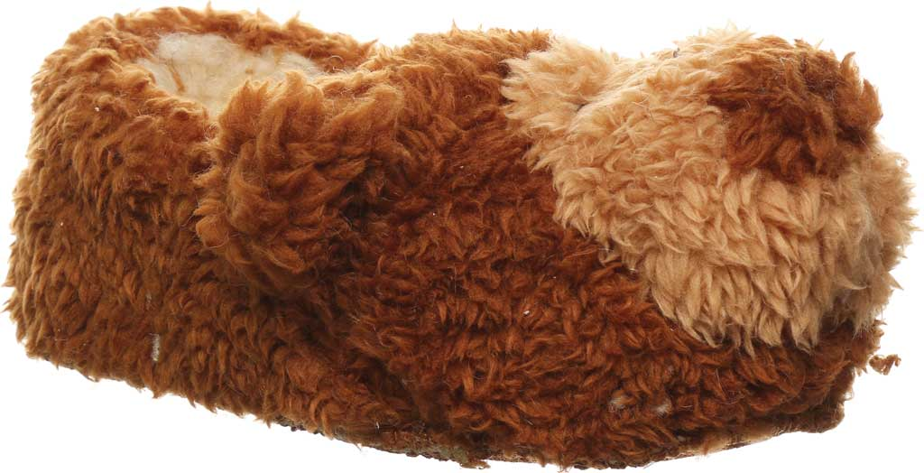 Infant Bearpaw Lil Critters Slipper, Brown Bear Faux Fur/Synthetic, large, image 1
