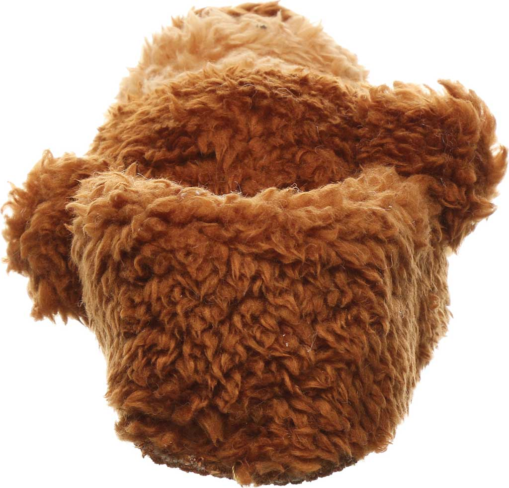Infant Bearpaw Lil Critters Slipper, Brown Bear Faux Fur/Synthetic, large, image 4