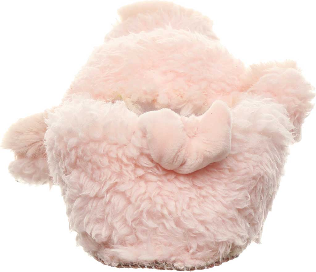 Infant Bearpaw Lil Critters Slipper, Pink Pig Faux Fur/Synthetic, large, image 4