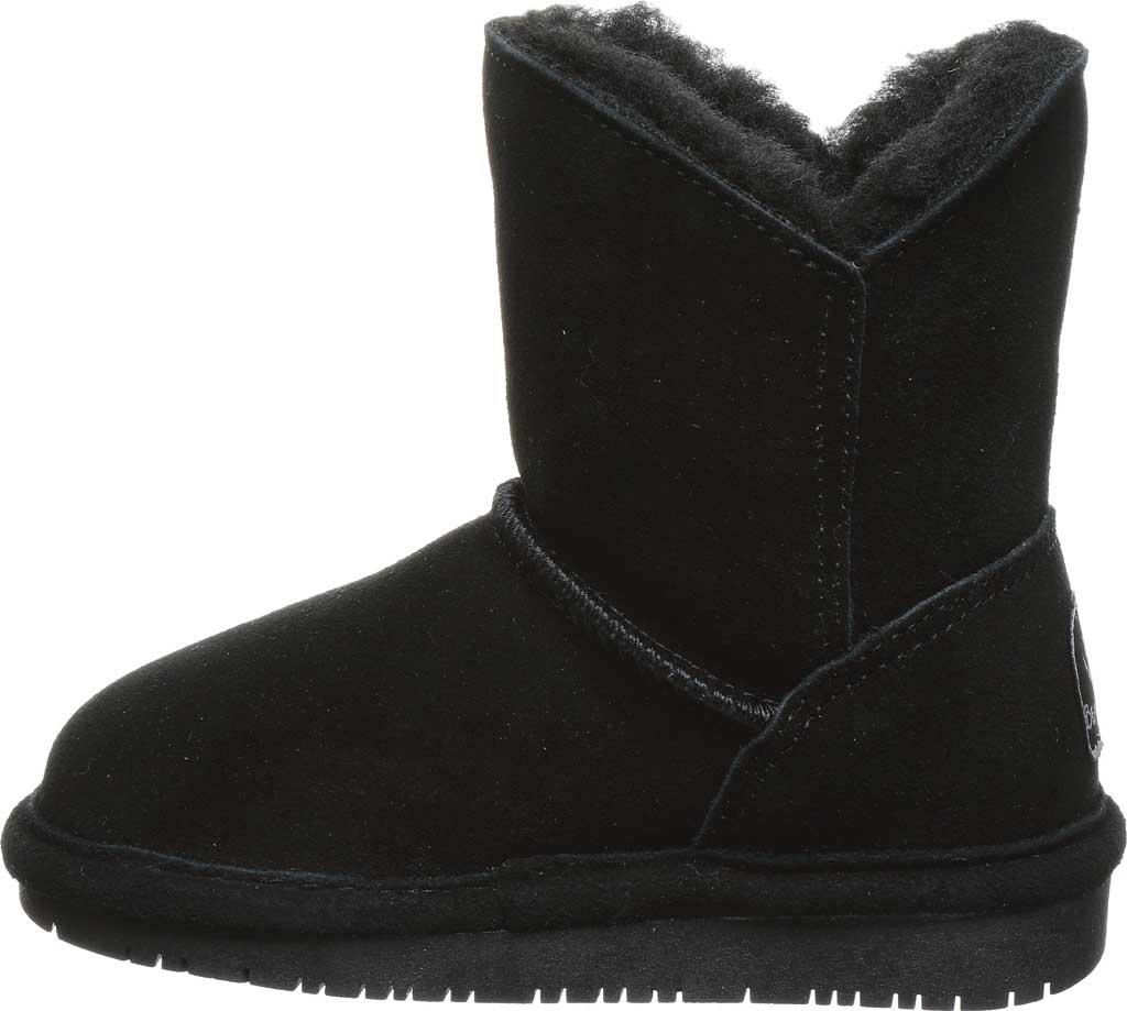 Infant Girls' Bearpaw Rosaline Toddler Toggle Boot, Black II Suede, large, image 3