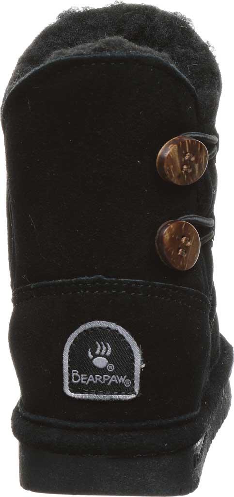 Infant Girls' Bearpaw Rosaline Toddler Toggle Boot, Black II Suede, large, image 4