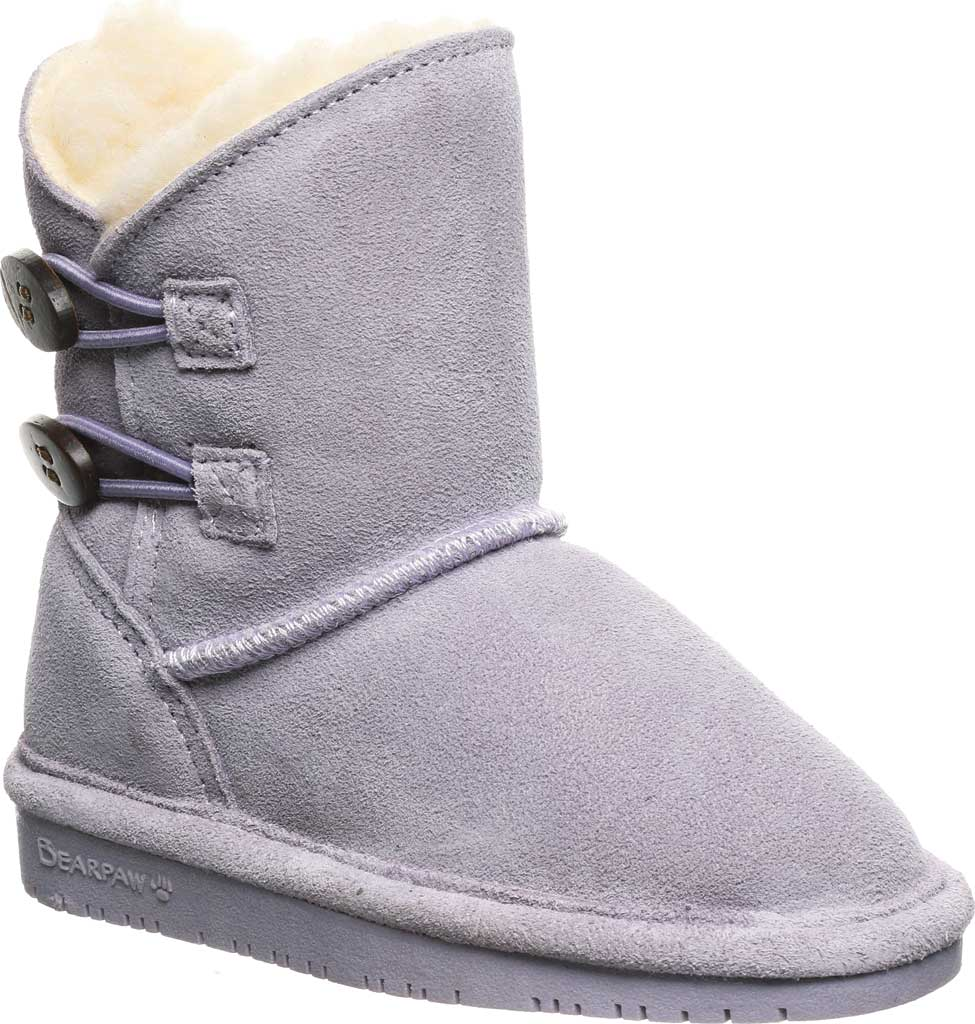Infant Girls' Bearpaw Rosaline Toddler Toggle Boot, Wisteria Suede, large, image 1