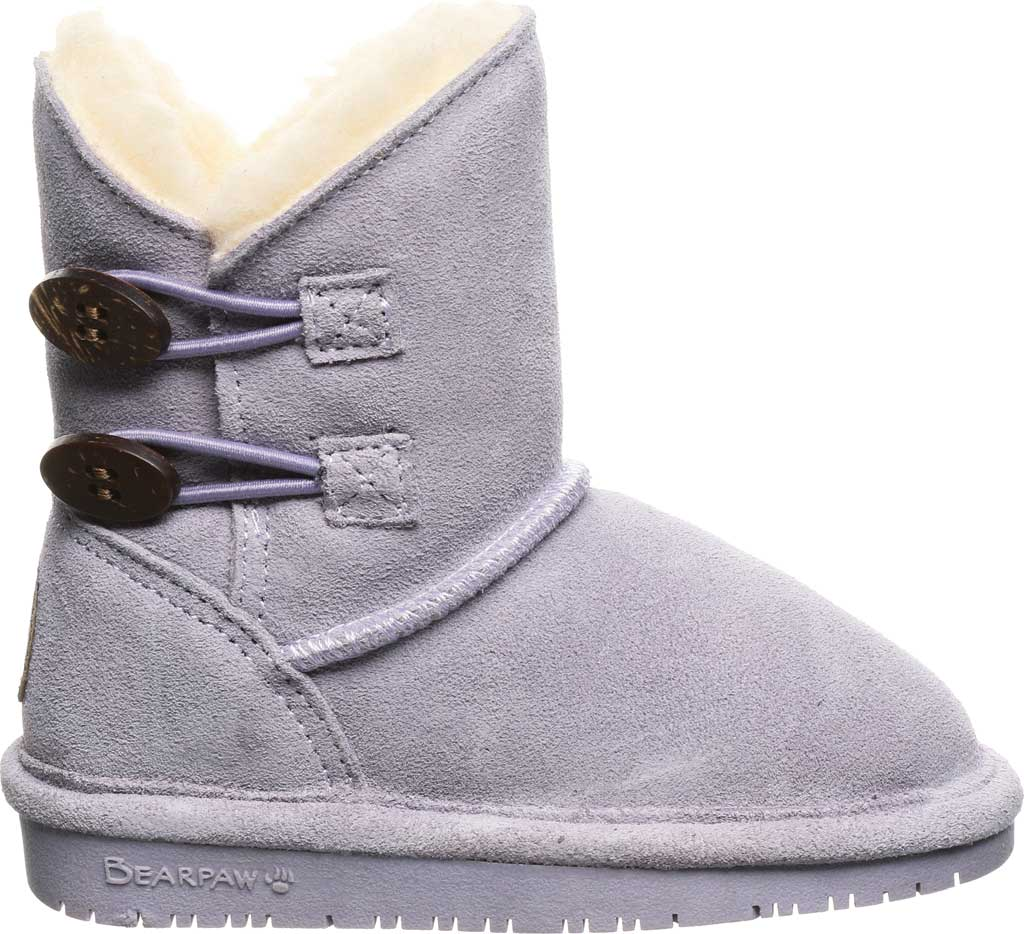 Infant Girls' Bearpaw Rosaline Toddler Toggle Boot, Wisteria Suede, large, image 2