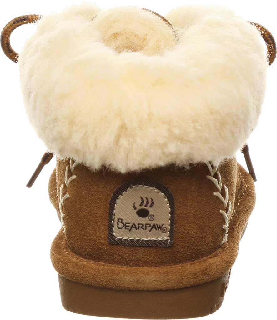 Children's Bearpaw Kory Youth Moccasin Bootie, Hickory II Suede, large, image 4