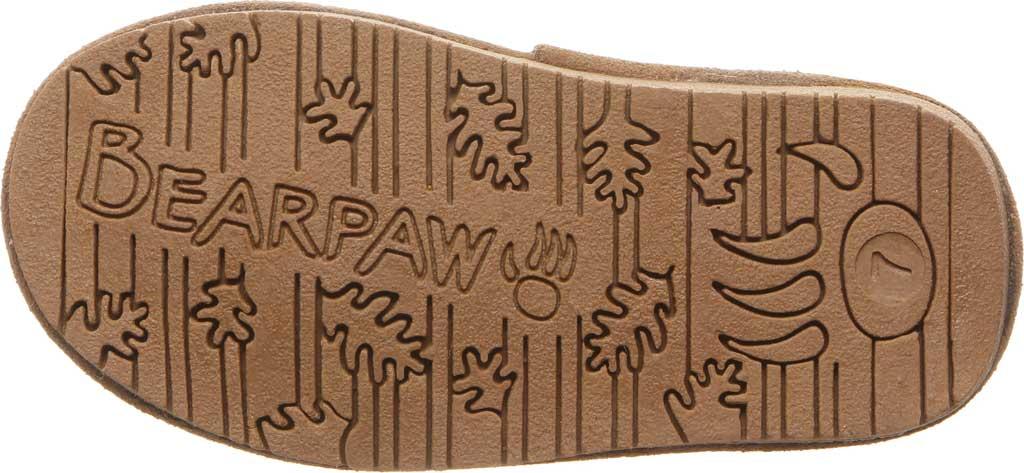 Girls' Bearpaw Rosaline Youth Toggle Boot, Hickory II Suede, large, image 4