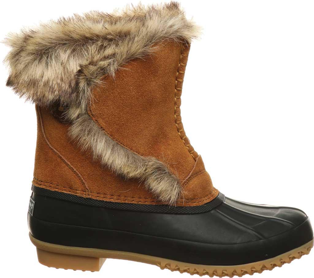 Women's Bearpaw Deborah Waterproof Duck Boot, Hickory II Suede, large, image 2