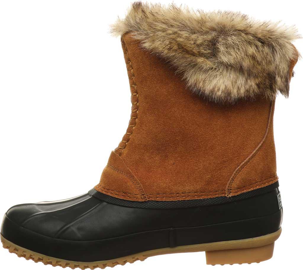 Women's Bearpaw Deborah Waterproof Duck Boot, Hickory II Suede, large, image 3