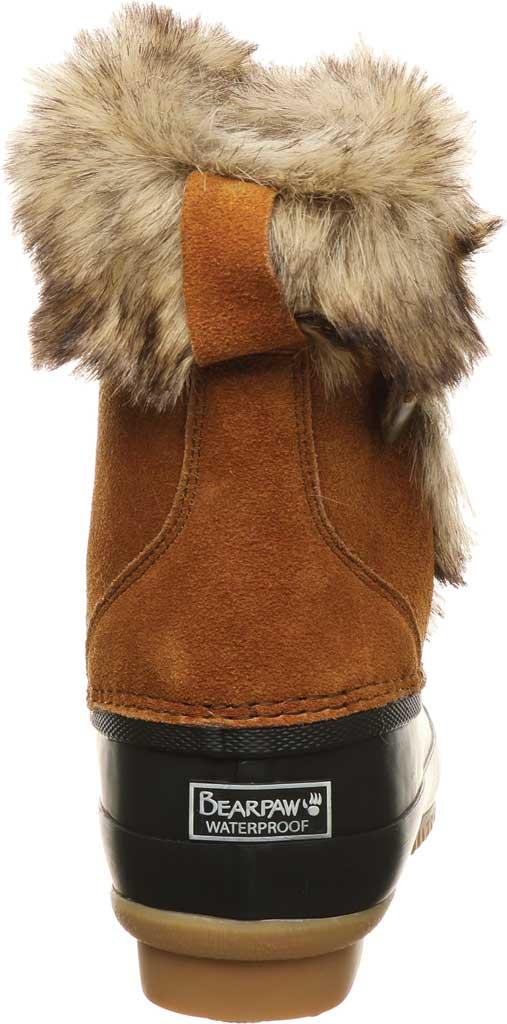 Women's Bearpaw Deborah Waterproof Duck Boot, Hickory II Suede, large, image 4