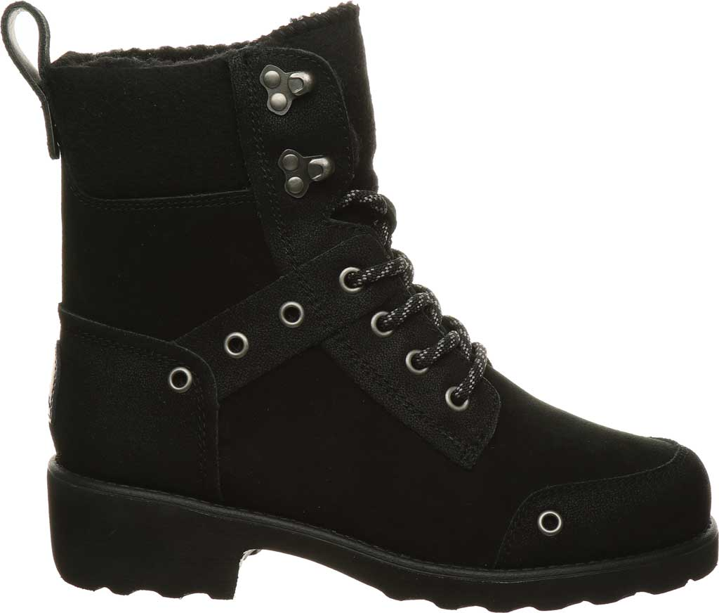 Women's Bearpaw Alicia Ankle Boot, Black II Suede, large, image 2