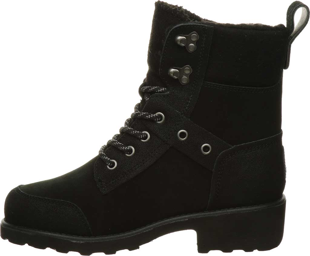 Women's Bearpaw Alicia Ankle Boot, Black II Suede, large, image 3