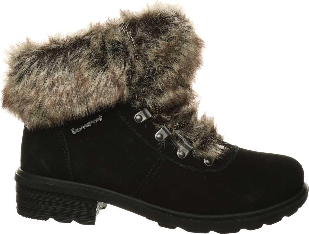 Women's Bearpaw Serenity Winter Bootie, Black II Suede, large, image 2