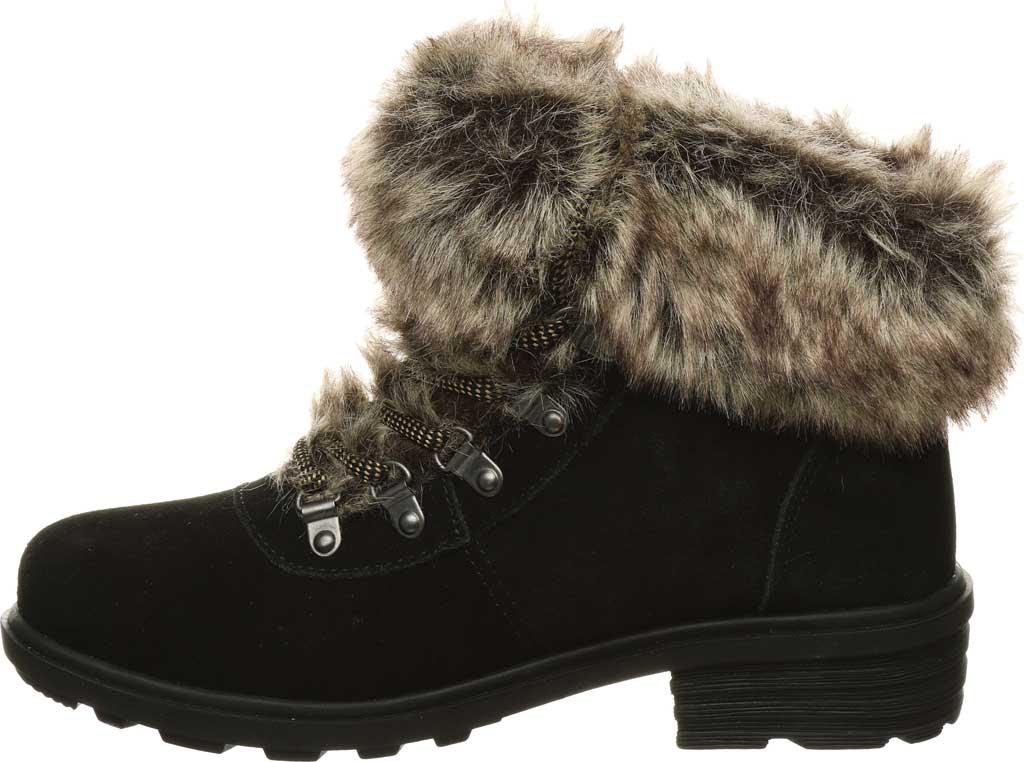 Women's Bearpaw Serenity Winter Bootie, Black II Suede, large, image 3