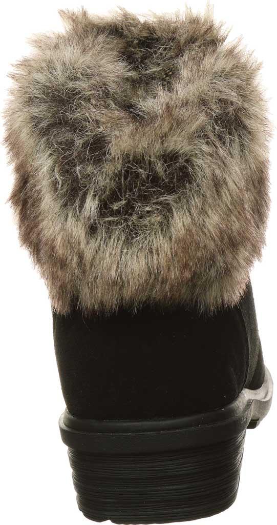 Women's Bearpaw Serenity Winter Bootie, Black II Suede, large, image 4