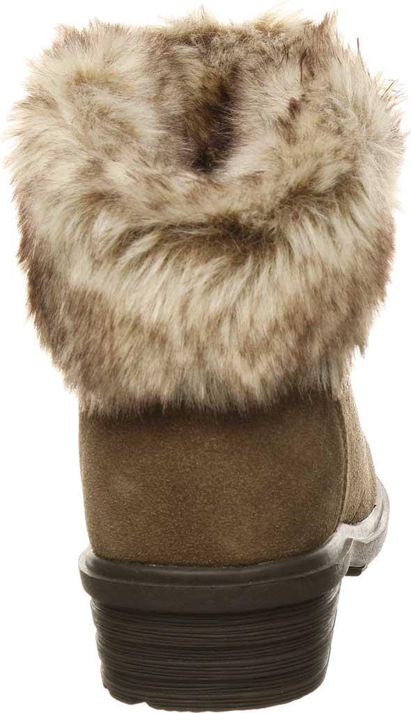 Women's Bearpaw Serenity Winter Bootie, Seal Brown Suede, large, image 4