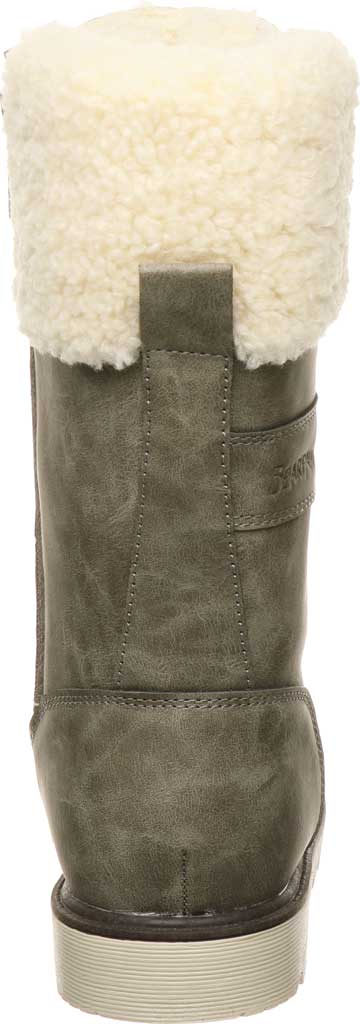 Women's Bearpaw Alaska Mid Calf Winter Boot, Taupe Faux Leather, large, image 4