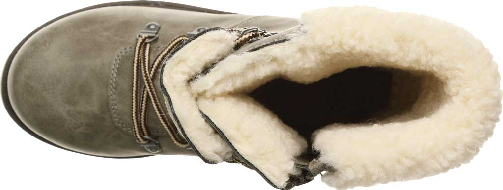 Women's Bearpaw Alaska Mid Calf Winter Boot, Taupe Faux Leather, large, image 5