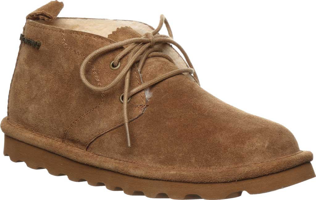 Women's Bearpaw Skye Chukka Boot, Hickory II Cow Suede, large, image 1