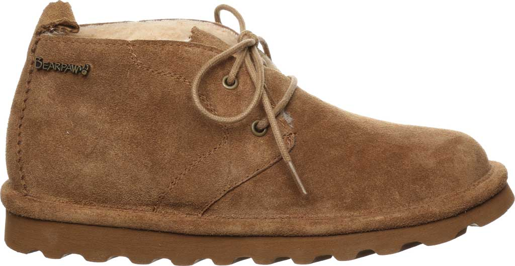 Women's Bearpaw Skye Chukka Boot, Hickory II Cow Suede, large, image 2
