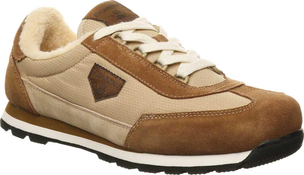 Men's Bearpaw Mogul Sneaker, Hickory II Suede/Nylon, large, image 1