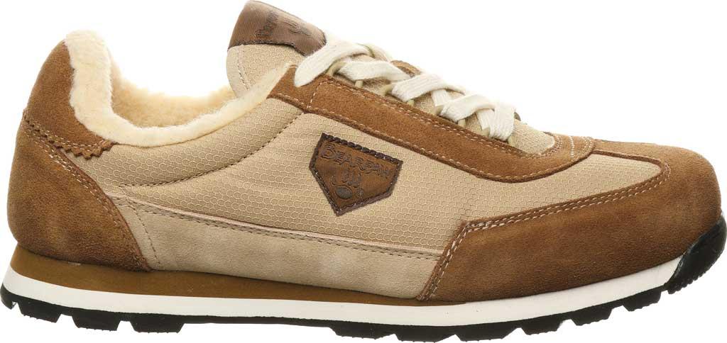 Men's Bearpaw Mogul Sneaker, Hickory II Suede/Nylon, large, image 2