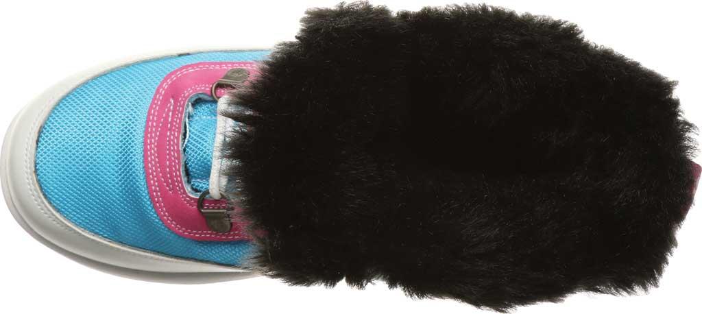 Women's Bearpaw Mokelumne Ankle Winter Boot, Hawaiian Ocean Leather/Nylon, large, image 5