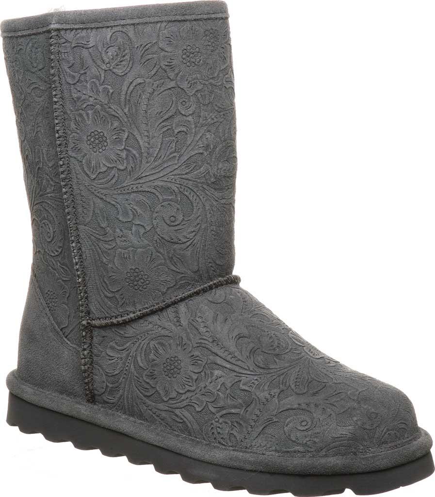 Women's Bearpaw Eliana Mid Calf Boot, Charcoal Suede, large, image 1