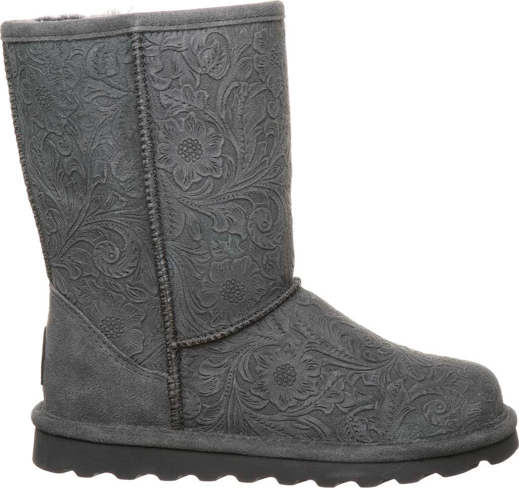 Women's Bearpaw Eliana Mid Calf Boot, Charcoal Suede, large, image 2