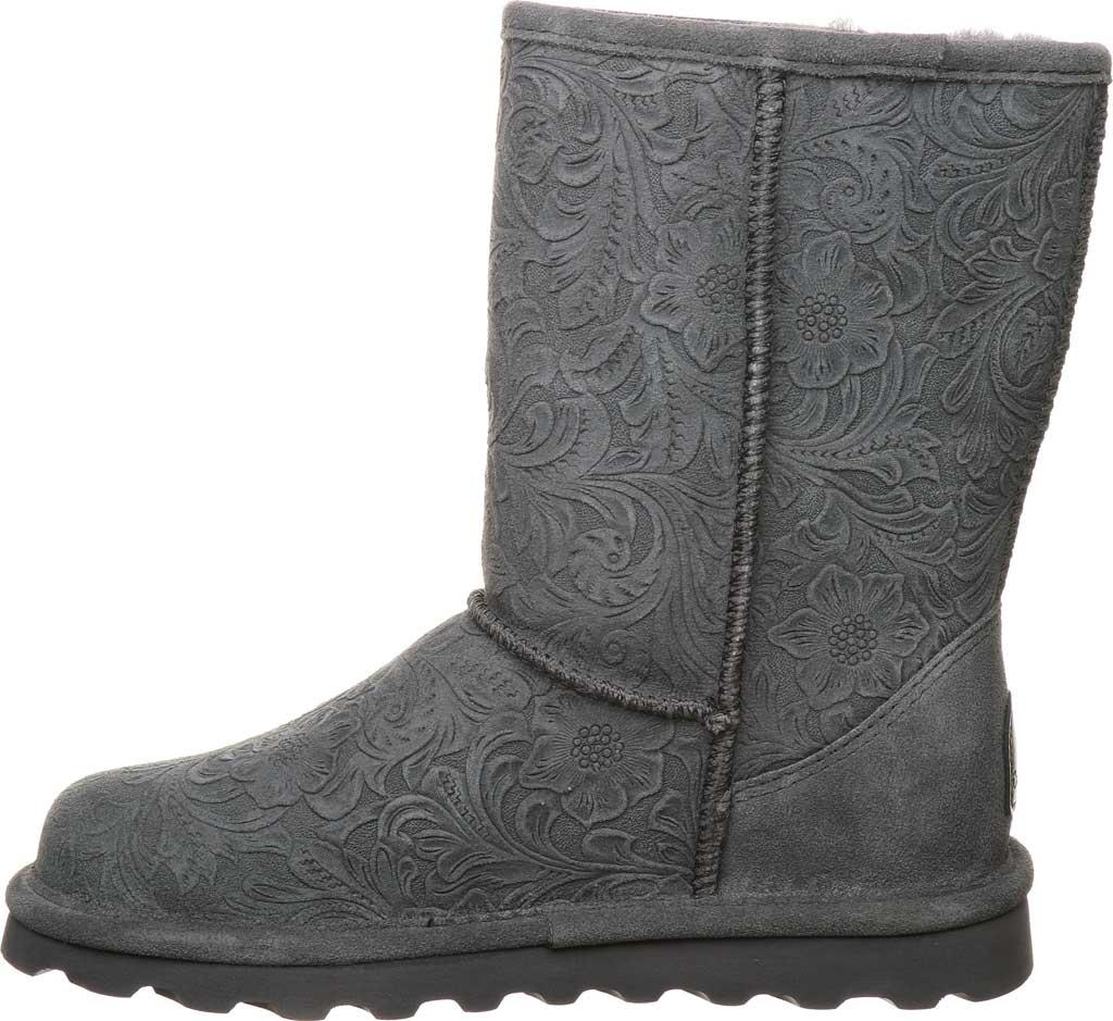 Women's Bearpaw Eliana Mid Calf Boot, Charcoal Suede, large, image 3