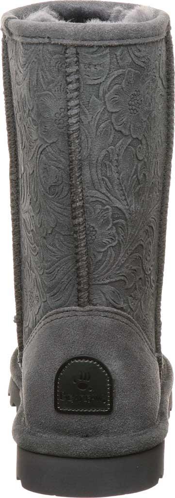 Women's Bearpaw Eliana Mid Calf Boot, Charcoal Suede, large, image 4