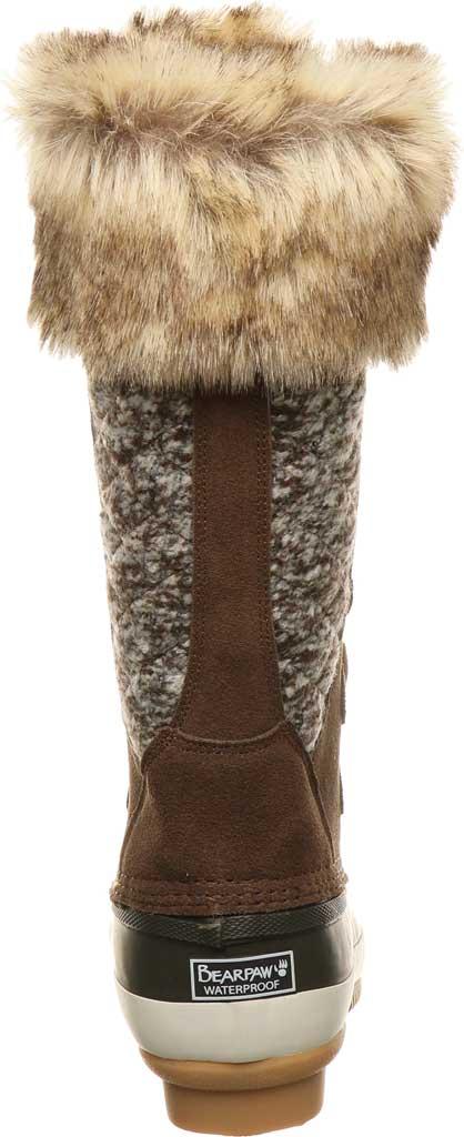 Women's Bearpaw Rory Waterproof Duck Boot, Earth Suede, large, image 4