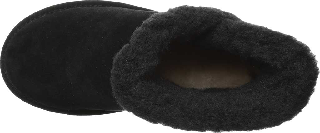 Women's Bearpaw Heidi II Short Boot, Black Suede, large, image 5