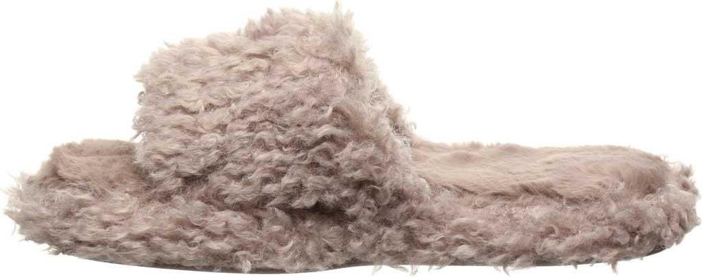 Women's Bearpaw Maxine Slide Slipper, Grey Fog Faux Fur, large, image 3