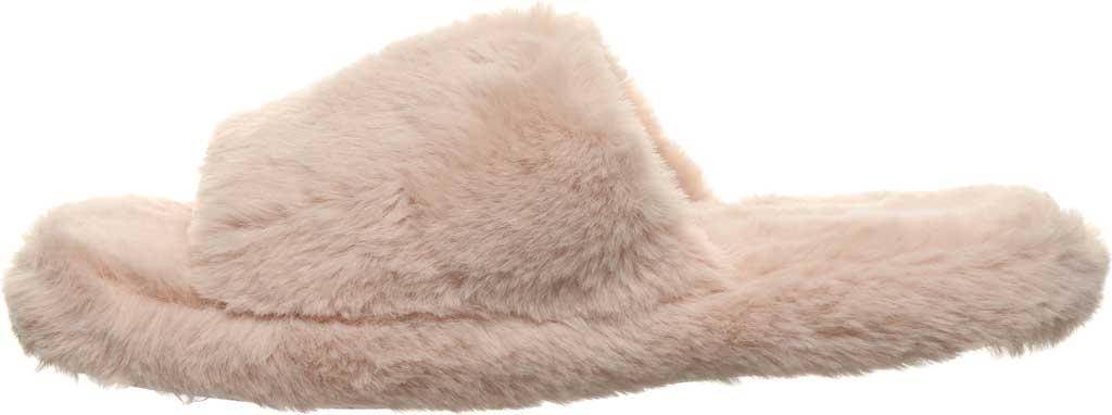 Women's Bearpaw Maxine Slide Slipper, Pink Faux Fur, large, image 3