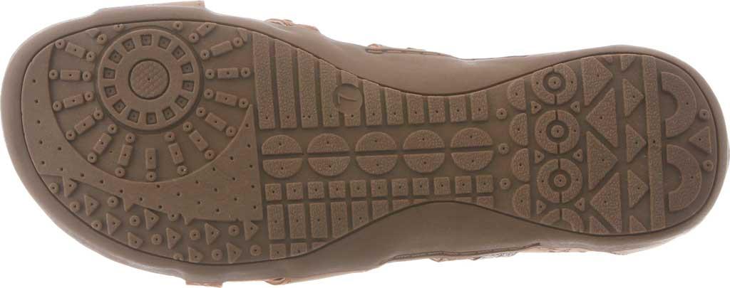 Women's Bearpaw Julianna II Strappy Sandal, Tan Faux Leather, large, image 4