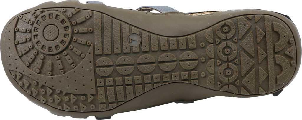 Women's Bearpaw Layla II Wide Strappy Sandal, Gunmetal Faux Leather, large, image 2