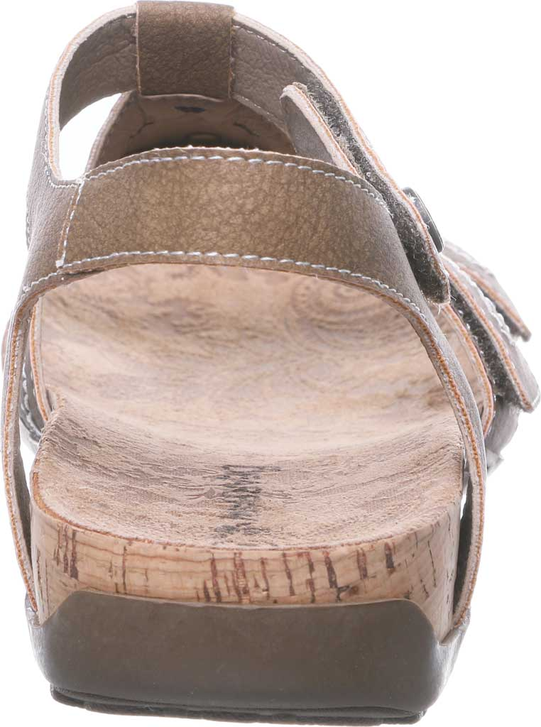 Women's Bearpaw Ridley II Strappy Sandal, Brown Faux Leather, large, image 4