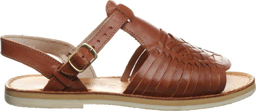 Women's Bearpaw Gloria Flat Strappy Sandal, Saddle Leather, large, image 2