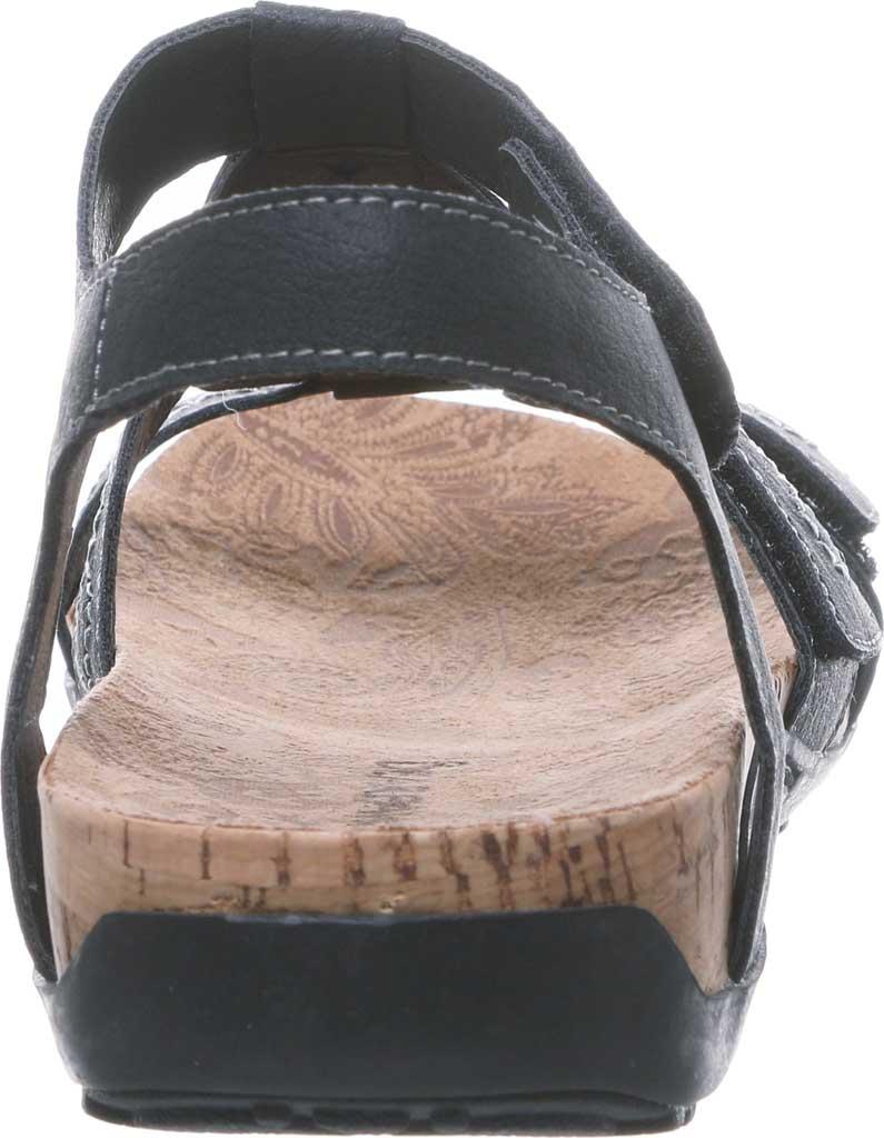 Women's Bearpaw Ridley II Wide Strappy Sandal, Black II Faux Leather, large, image 4