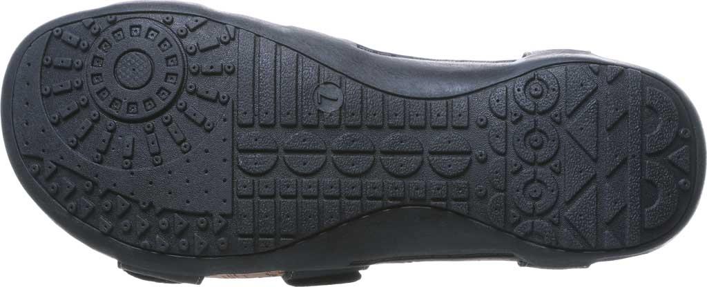 Women's Bearpaw Ridley II Wide Strappy Sandal, Black II Faux Leather, large, image 6