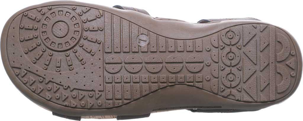 Women's Bearpaw Kai Wide II Strappy Slide, Dark Brown Faux Leather, large, image 6