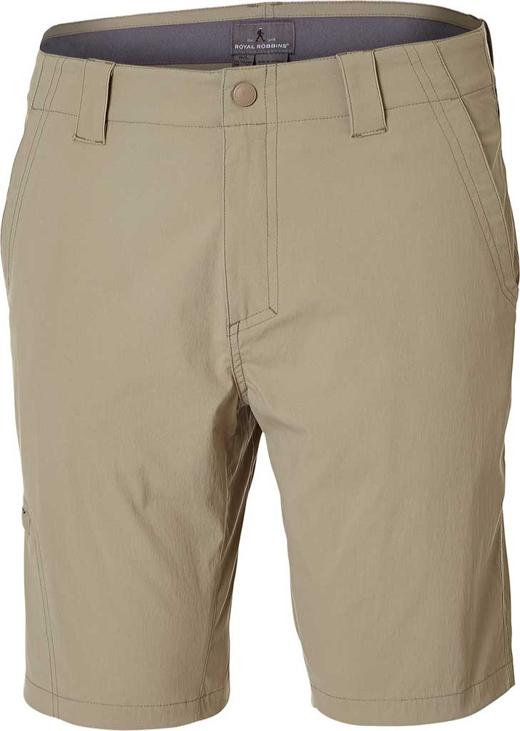 "Men's Royal Robbins Everyday Traveler Short 10"", Khaki, large, image 1"