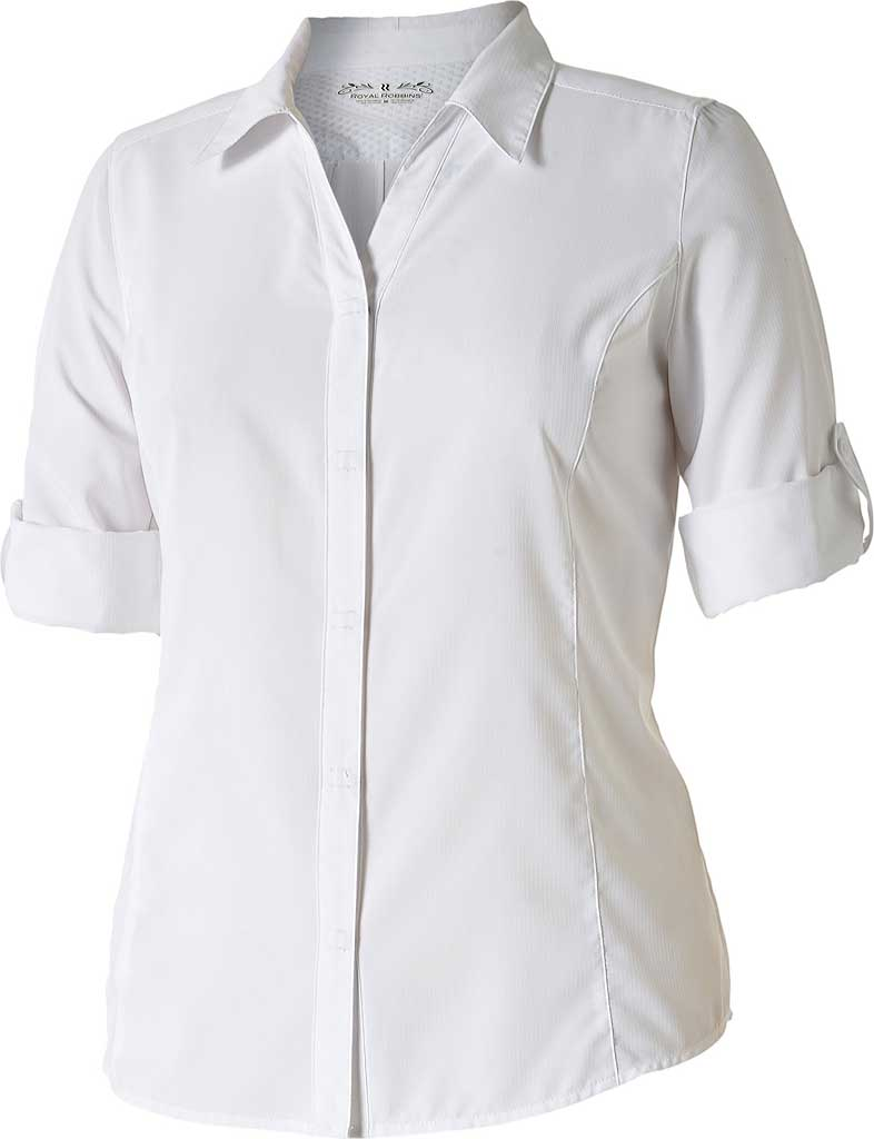 Women's Royal Robbins Expedition Chill Stretch 3/4 Sleeve Shirt, , large, image 1