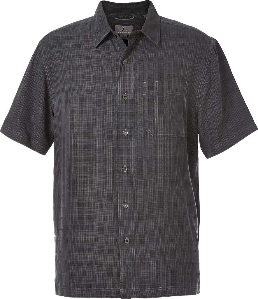 Men's Royal Robbins San Juan Dry Short Sleeve Shirt, Obsidian, large, image 1